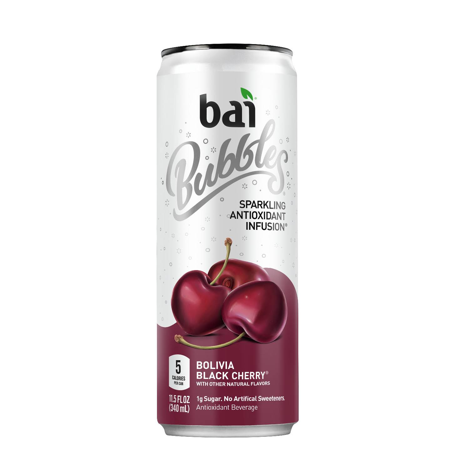 Bai Bubbles Sparkling Antioxidant Infused Beverage - Bolivia Black Cherry
