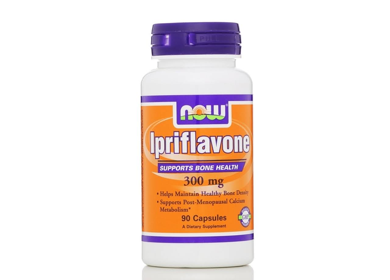 Now Foods Ipriflavone Dietary Supplement - 90 Count