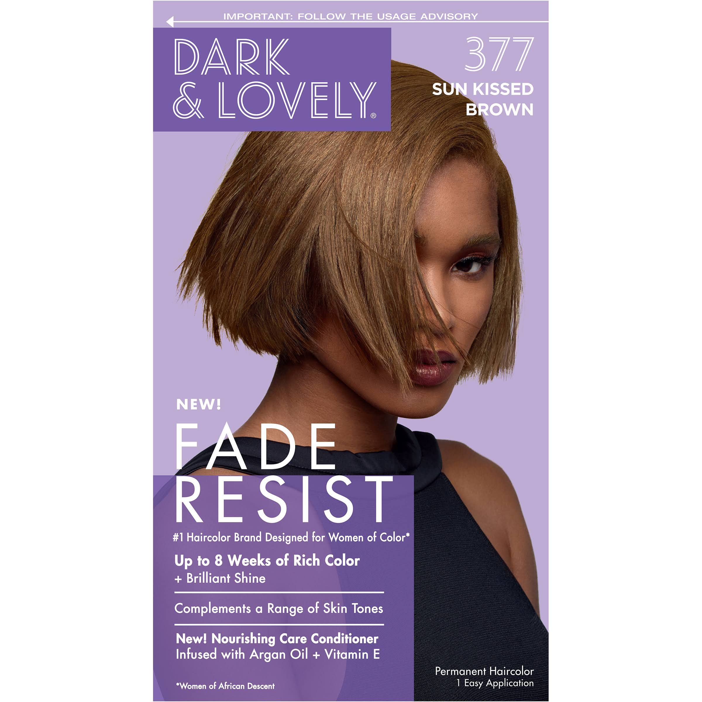 SoftSheen-Carson Dark and Lovely Fade Resist Rich Conditioning Hair Color - Sun Kissed Brown