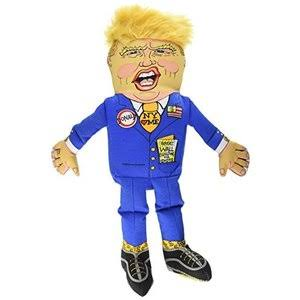 Fuzzu Presidential Parody Dog Toy - Donald Trump