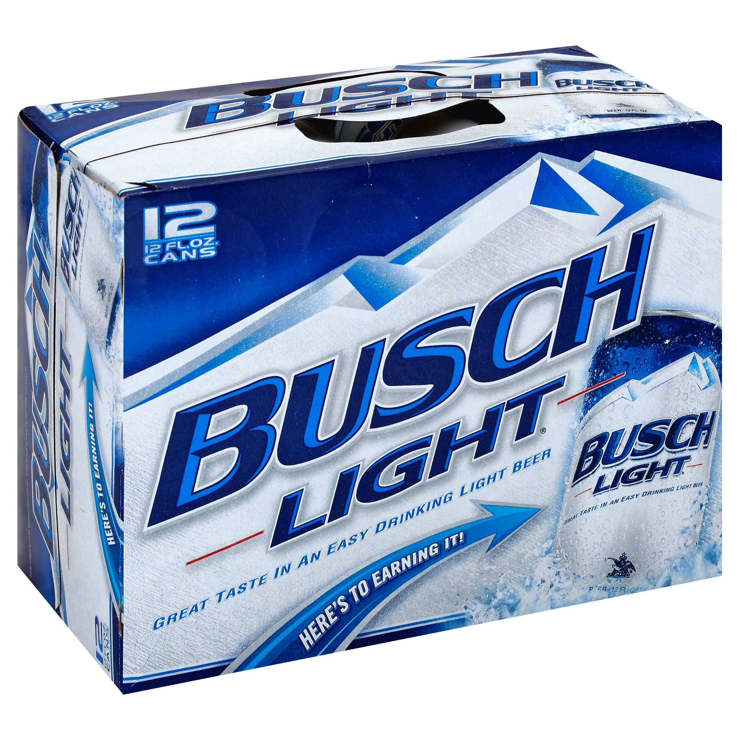 Busch Light Beer - 12 Cans