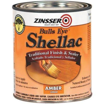 Zinsser Shellac Traditional Finish & Sealer - Amber, 1qt