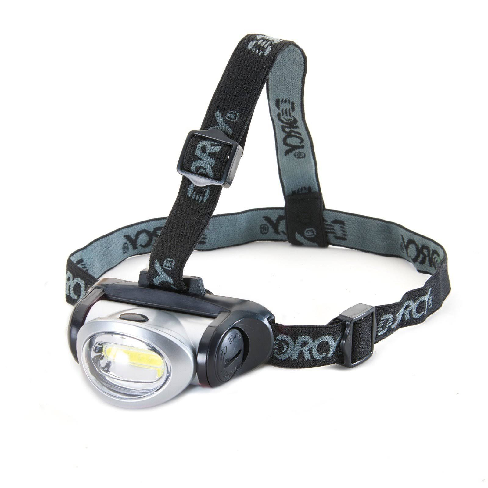 Dorcy LED Headlight - 17 Lumens, Black