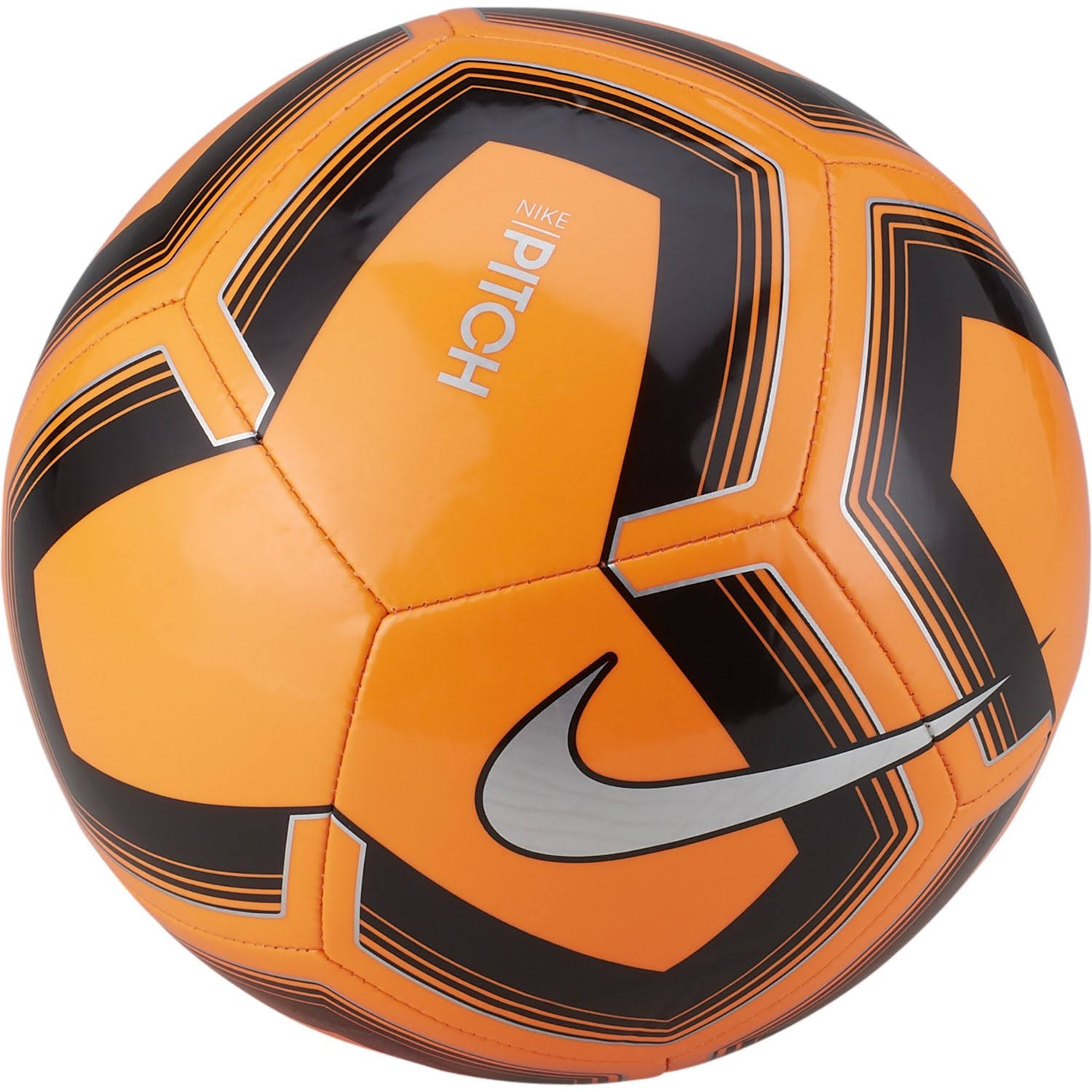 Nike Pitch Training Soccer Ball (Orange, 3)