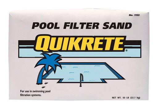 Quikrete Pool Filter Sand - 50lbs