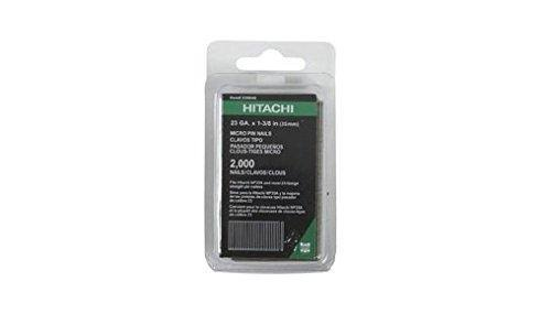 Hitachi 23004S 23-Gauge 1-3/8 in. Electro Galvanized Headless Pin Nails (2,000-Pack)