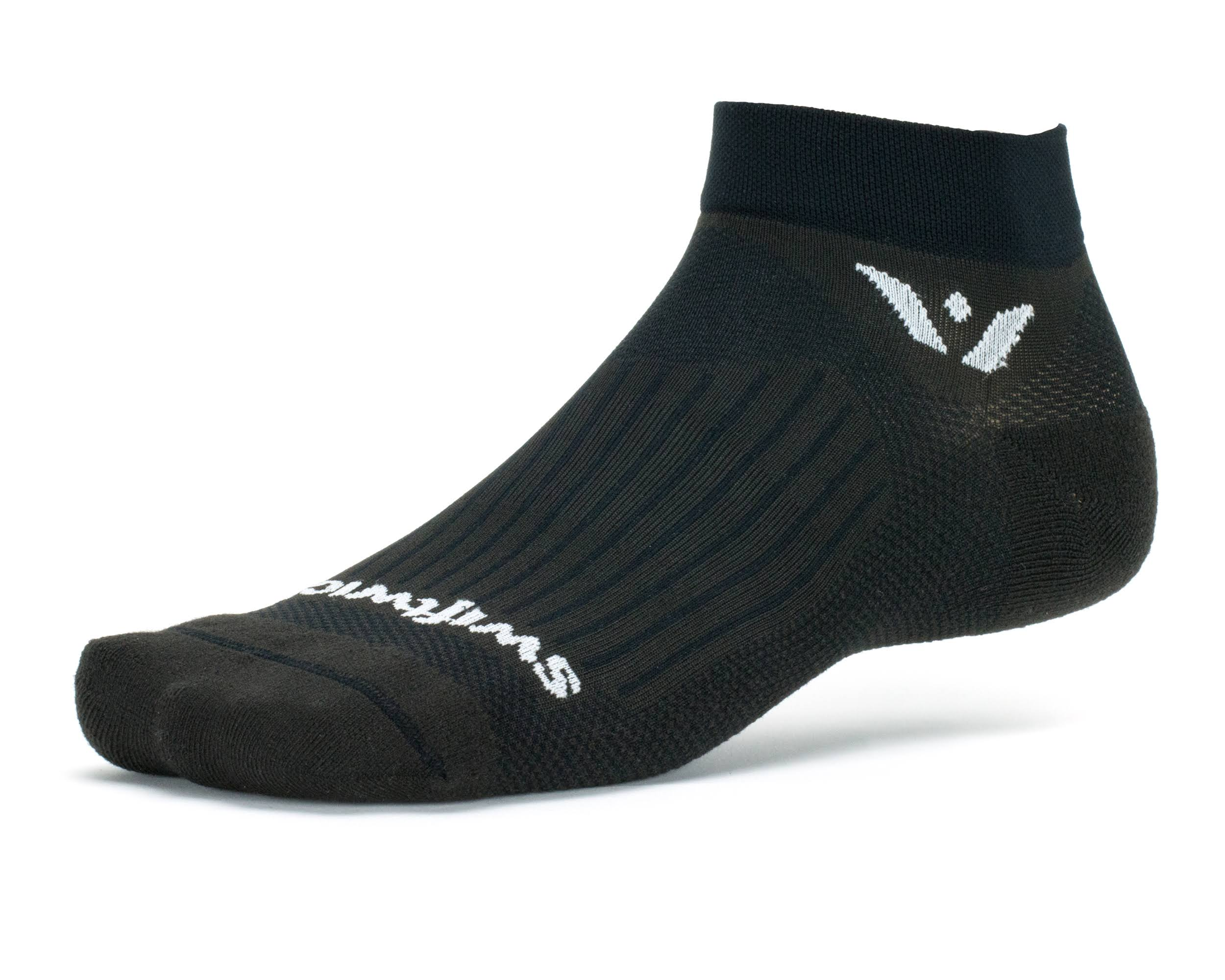 Swiftwick Aspire One Socks - Black, Medium