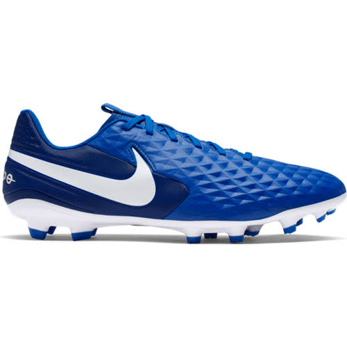 Nike Tiempo Legend 8 Academy FG-MG Soccer Cleat Blue - 9.5