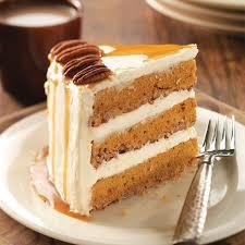 Cake Mix And Pumpkin by Pumpkin Pecan Spice Cake Recipe Taste Of Home