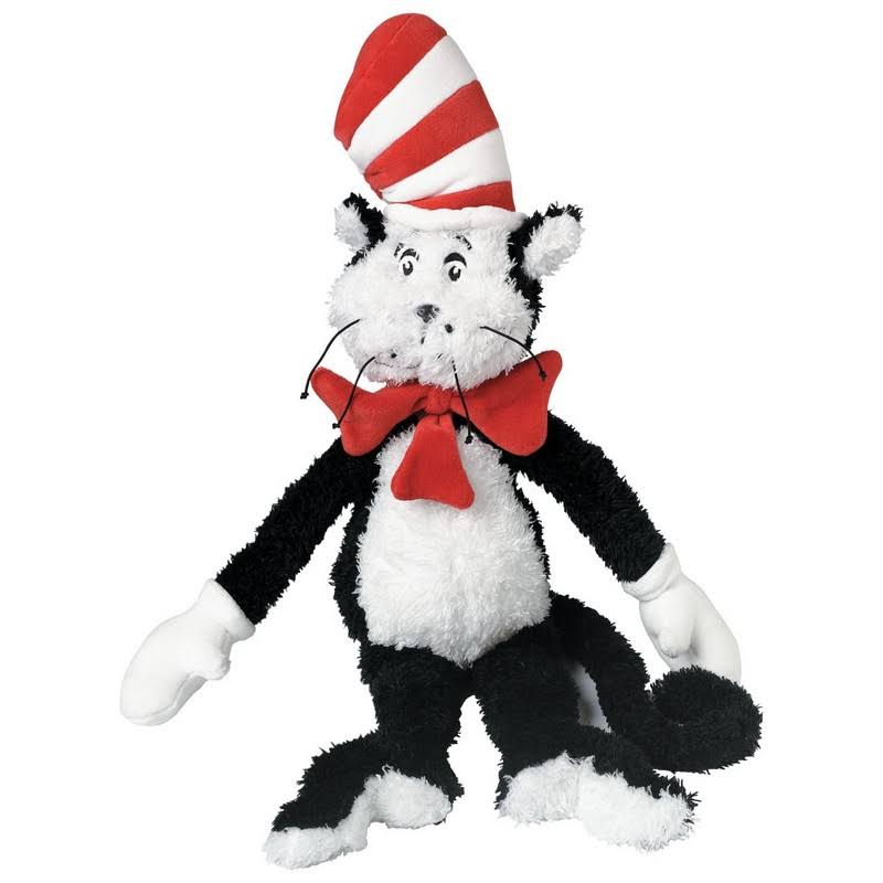 Manhattan Toy Dr. Seuss The Cat in the Hat Soft Plush Toy - 70cm