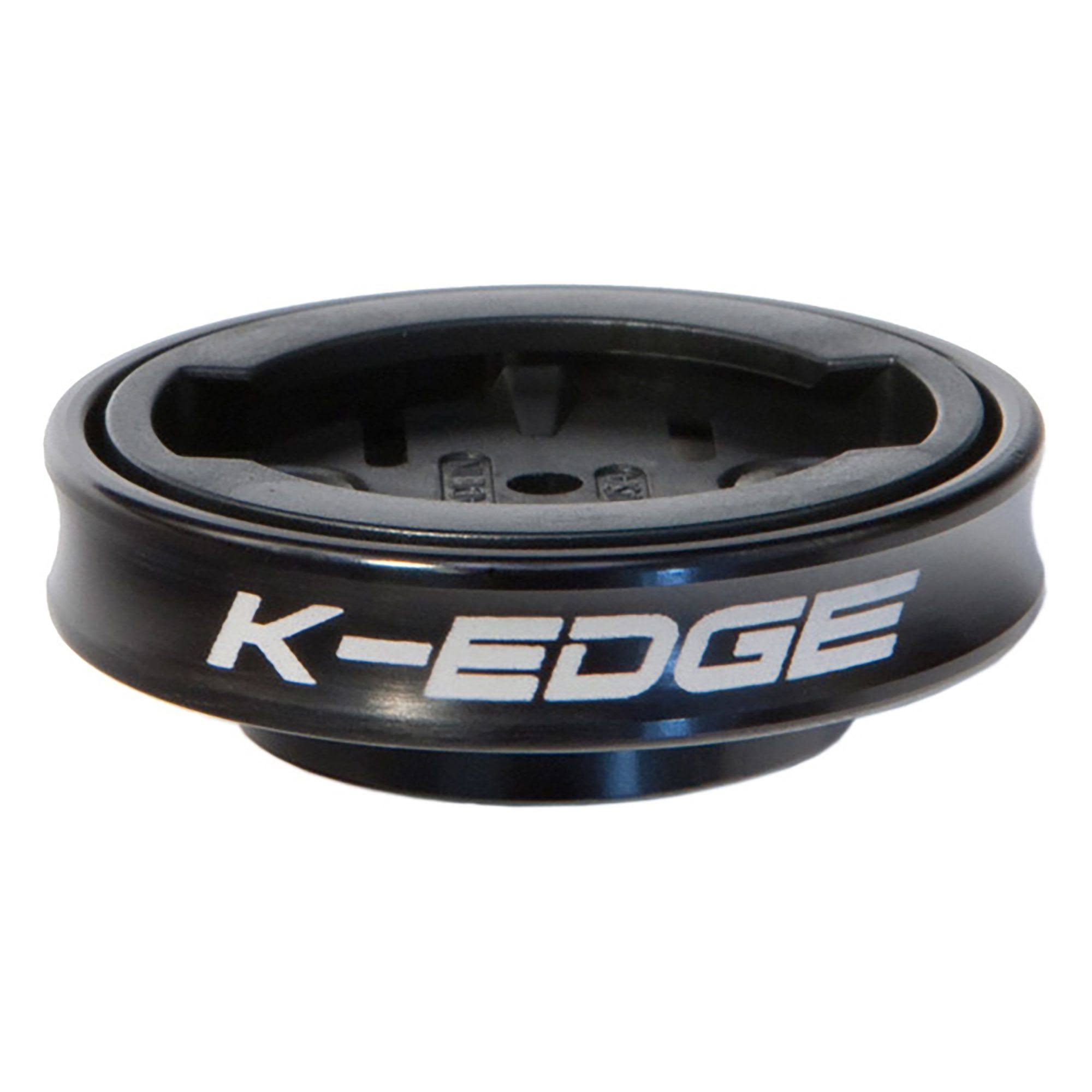 K-Edge Gravity Cap Garmin Mount - Black