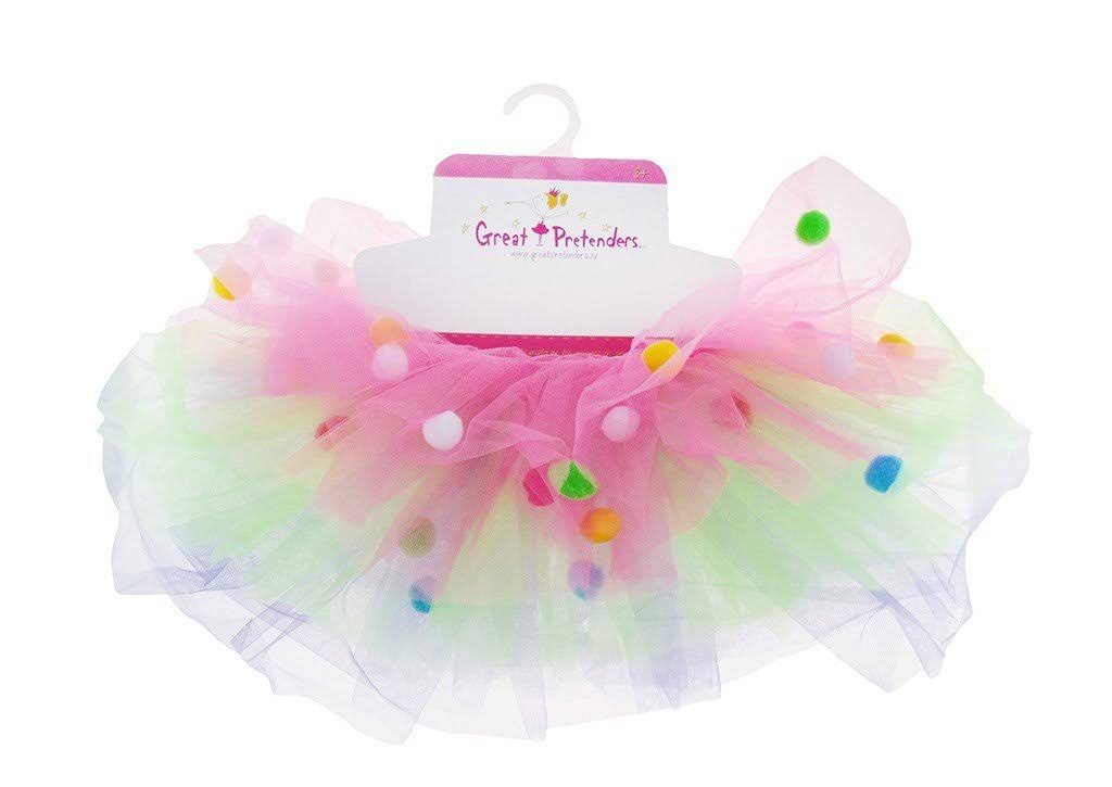 Creative Education Great Pretenders Pom Skirt Multicolor Size 4-7
