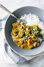 Thai Green Pumpkin Curry Recipe by Creamy Thai Sweet Potato Curry Recipe Pinch Of Yum