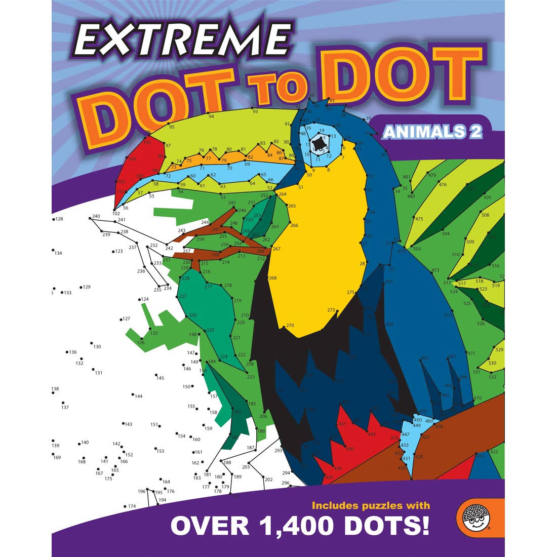MindWare Extreme Dot to Dot Animals 2