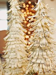 Pine Cone Christmas Trees For Sale by How To Make Sheet Music Christmas Trees Hgtv