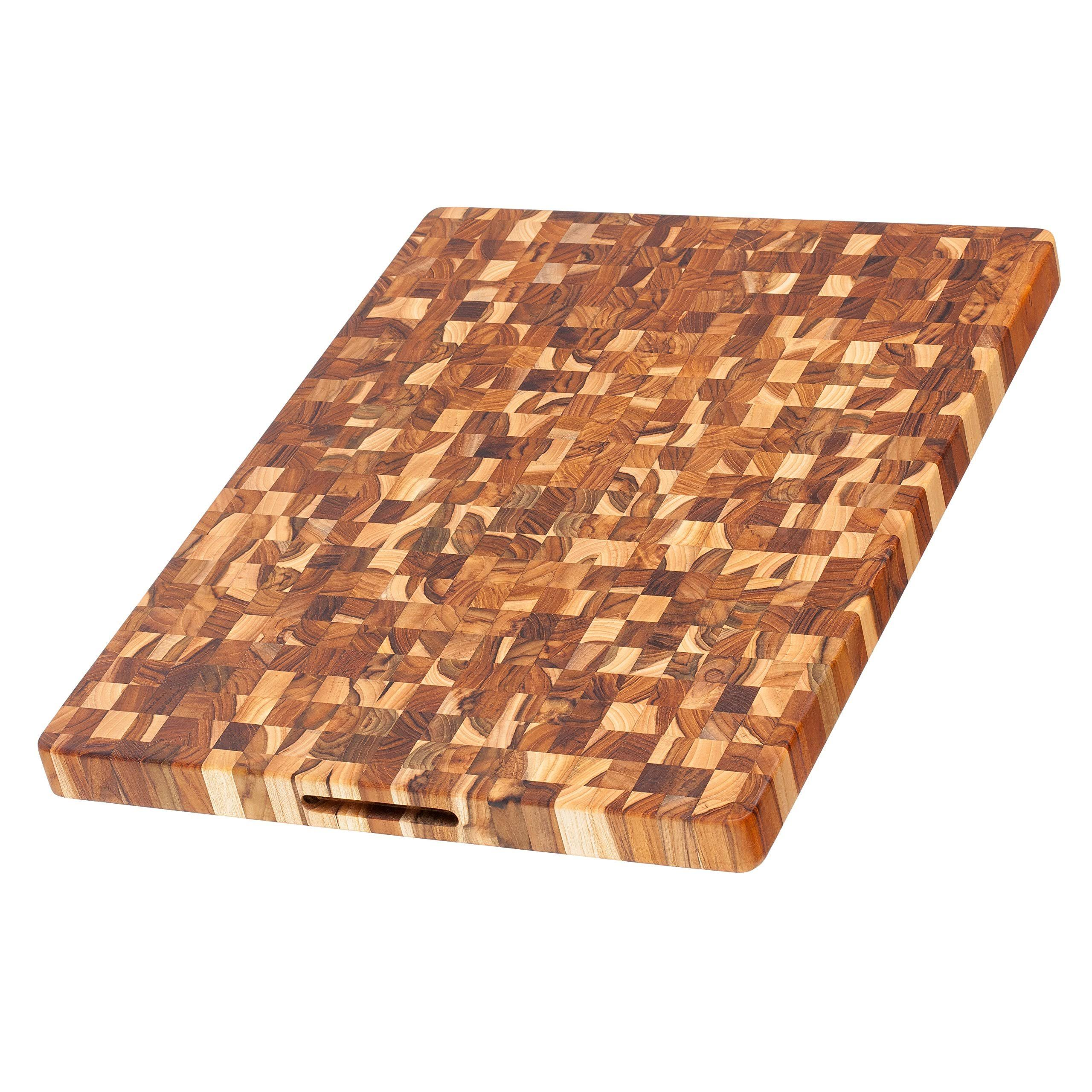 "Proteak Rectangle End Grain Cutting Board - 24"" x 18"" x 1.5"""