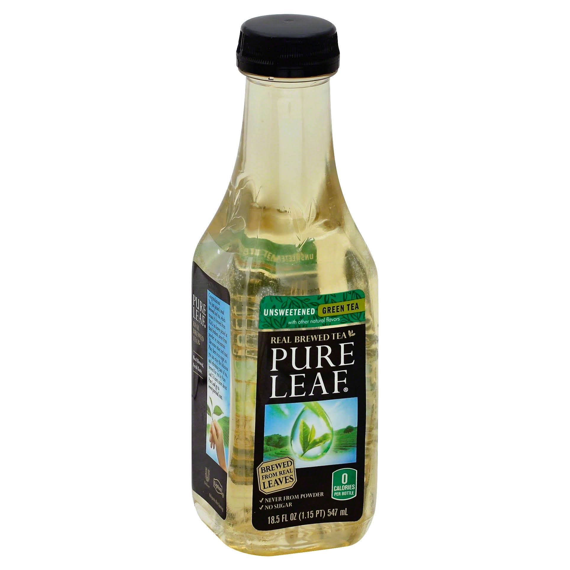 Pure Leaf Iced Green Tea - Unsweetened, 18.5oz