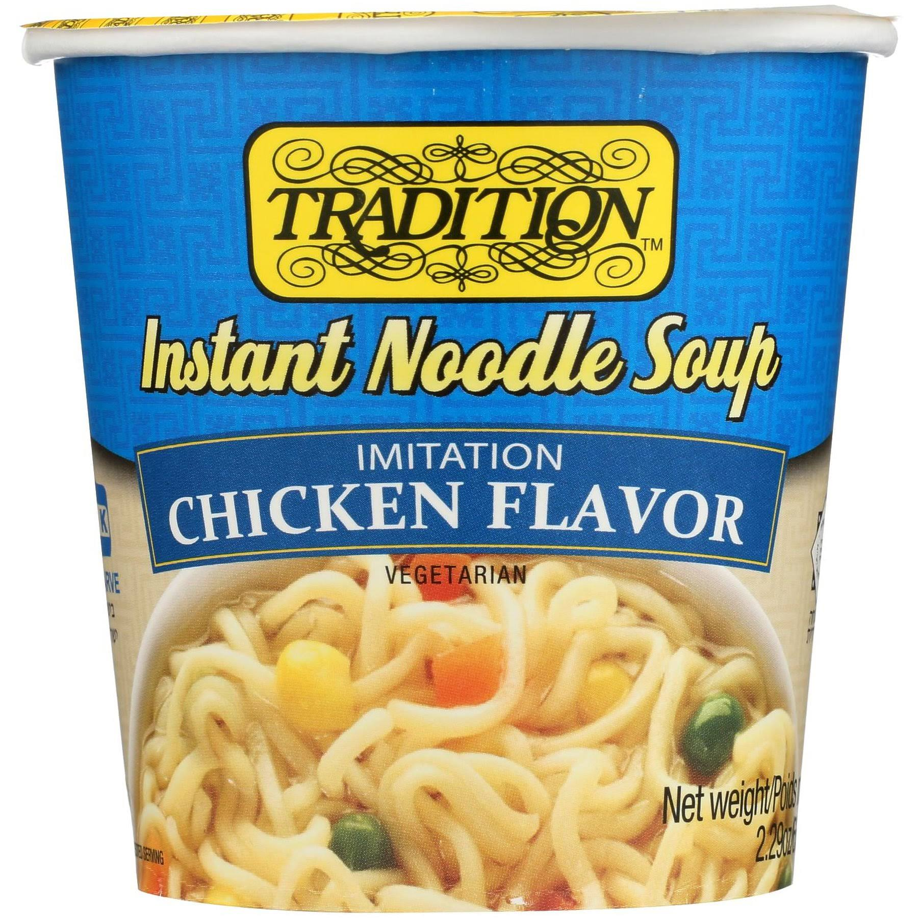 Tradition Instant Noodle Soup - Chicken, 2.29oz