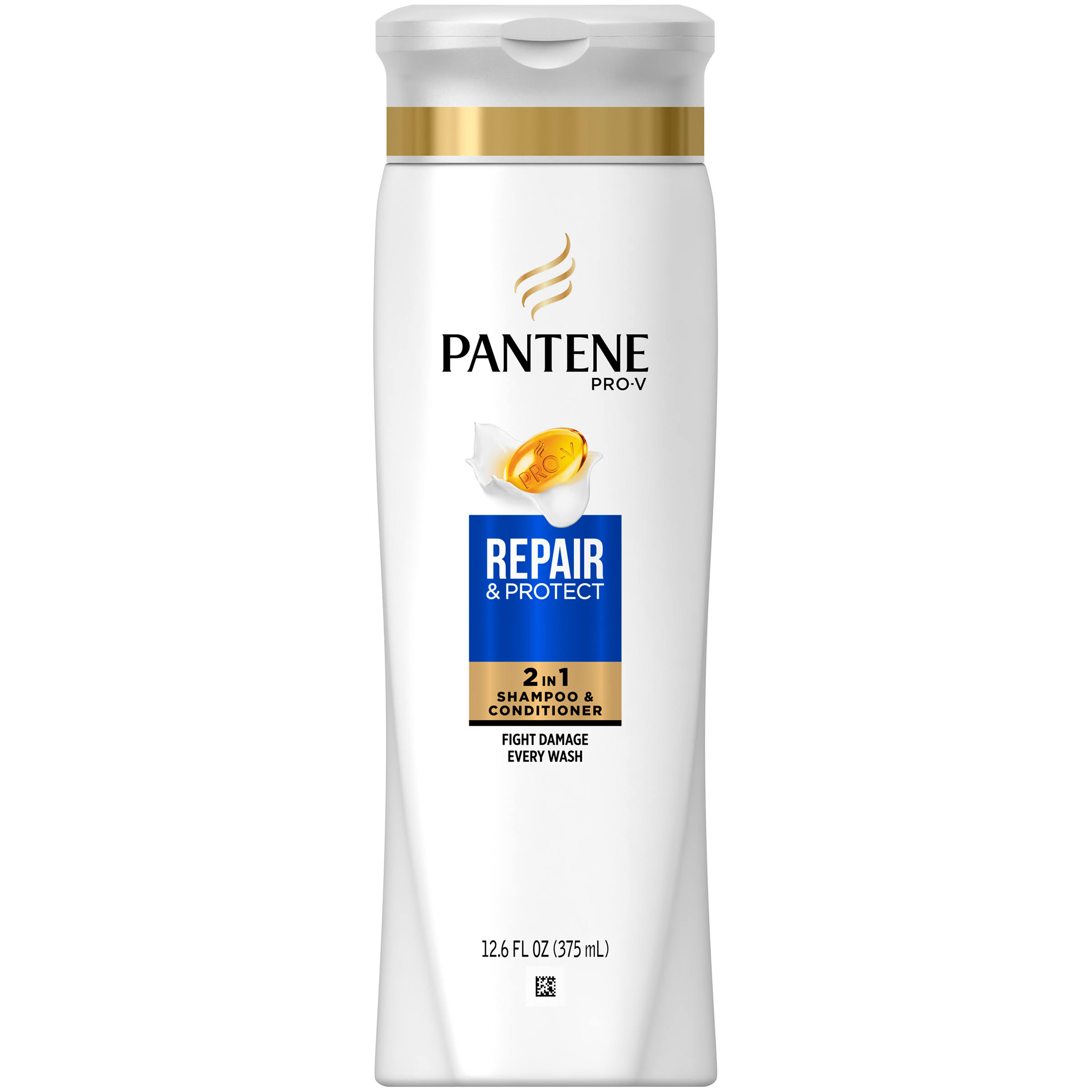 Pantene Pro-V Repair & Protect 2 in 1 Shampoo & Conditioner - 12.6oz