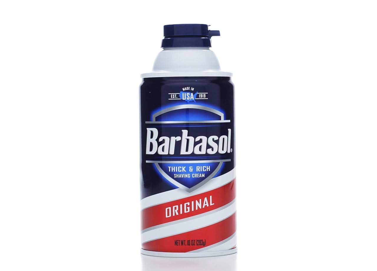 Barbasol Thick & Rich Shaving Cream - Original, 283g