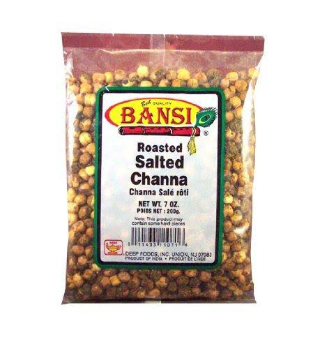 Bansi Roasted Salted Chana 7 oz
