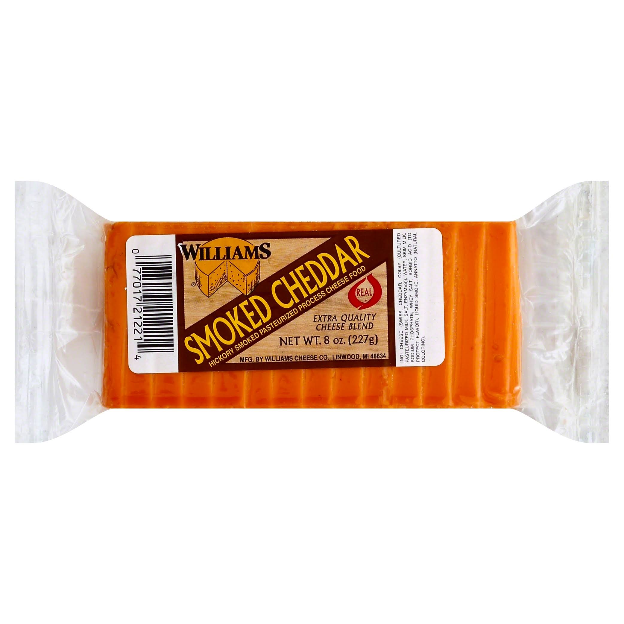 Williams Smoked Cheddar Cheese - 8oz