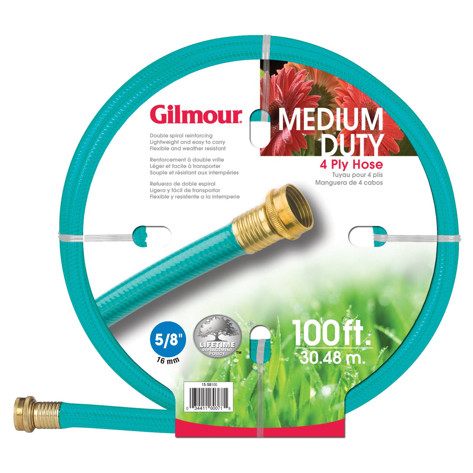 Gilmour Medium Duty Garden Hose - 30.4m