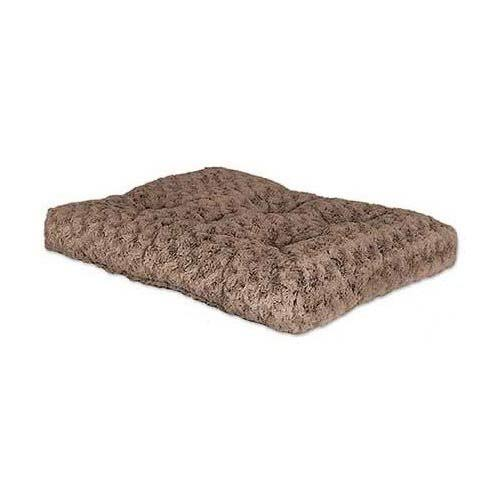 Midwest Quiet Time Pet Bed Deluxe - Tan Ombre Swirl, 35x23''
