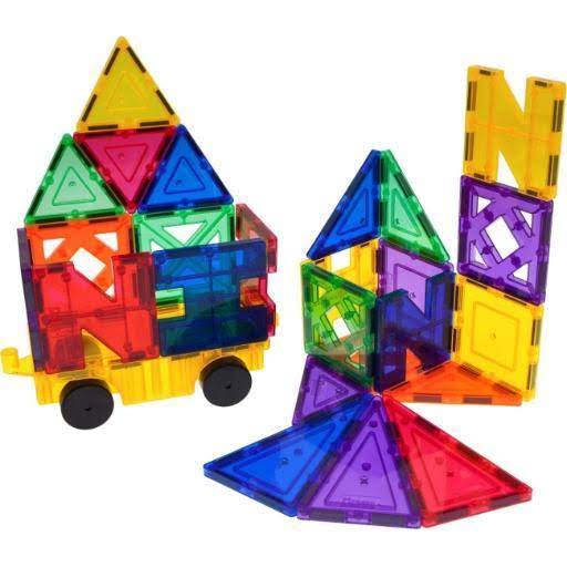 PicassoTiles 26 Piece Building Blocks 26pcs Inspirational Kit 3D Building