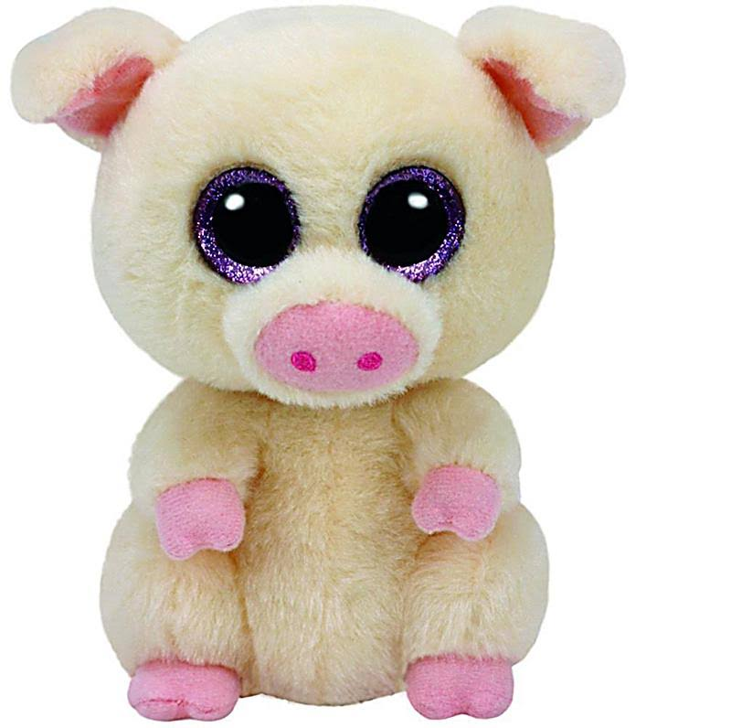 Ty Beanie Boos Piggley The Pig