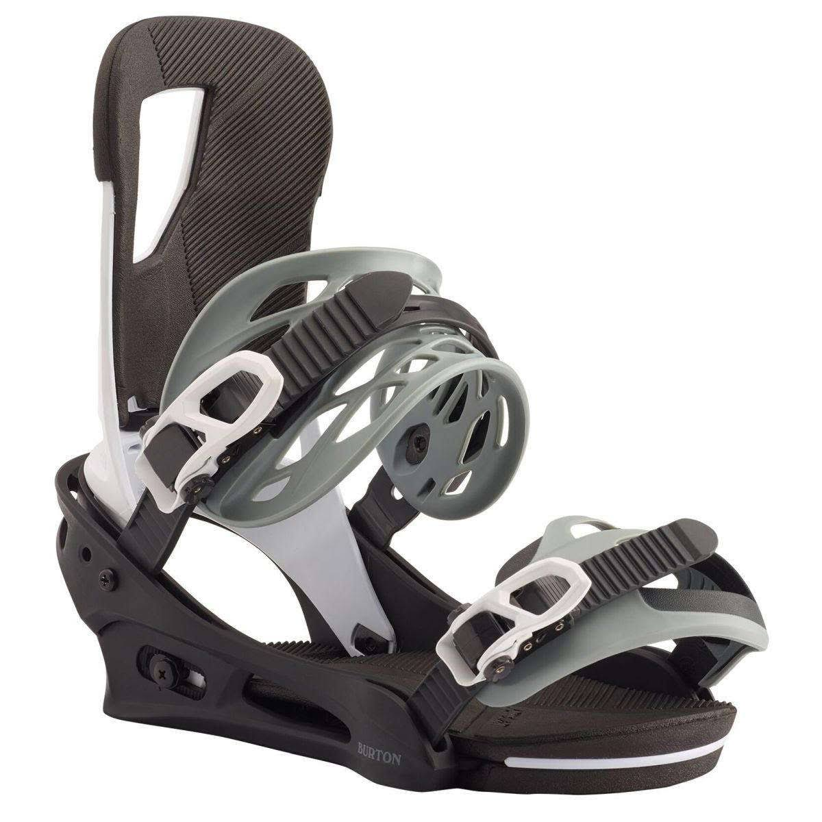 Snowboard Binding Burton Cartel Black White