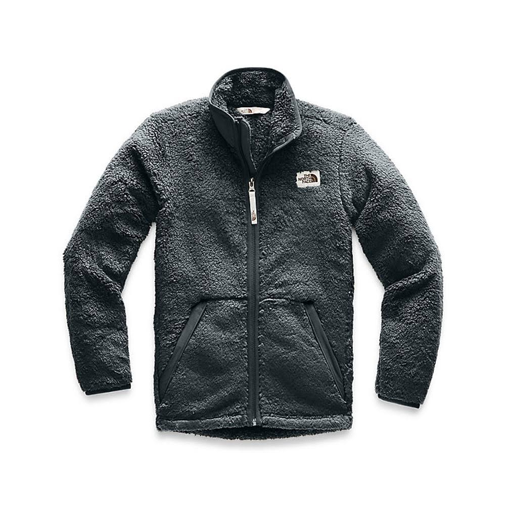 The North Face Boys' Campshire Full-Zip Jacket Asphalt Grey / L