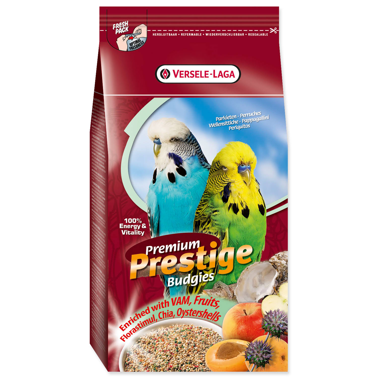 Versele-Laga Prestige Premium Budgies Food