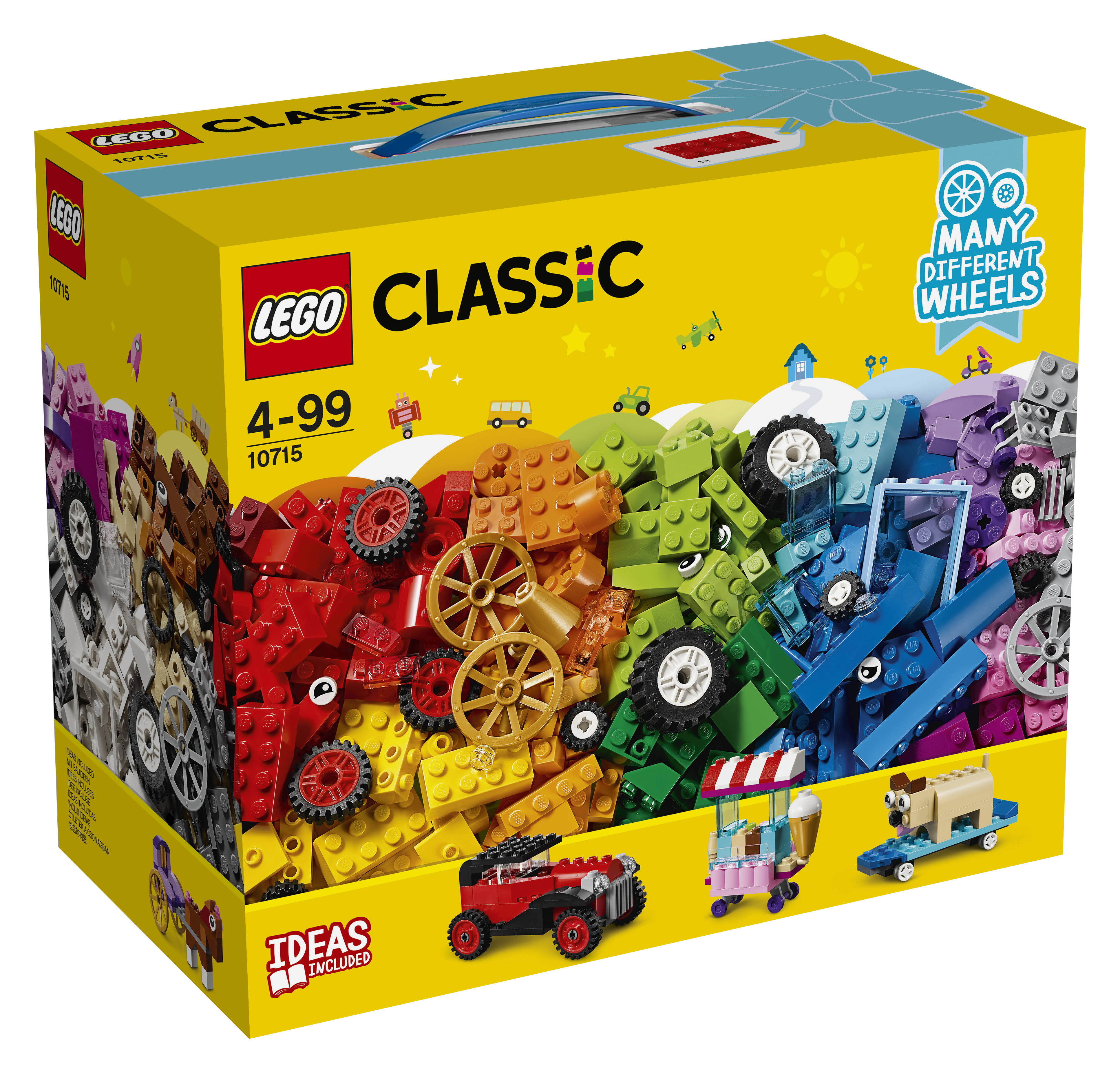 Lego 10715 Classic Toy Puzzle - Bricks on a Roll