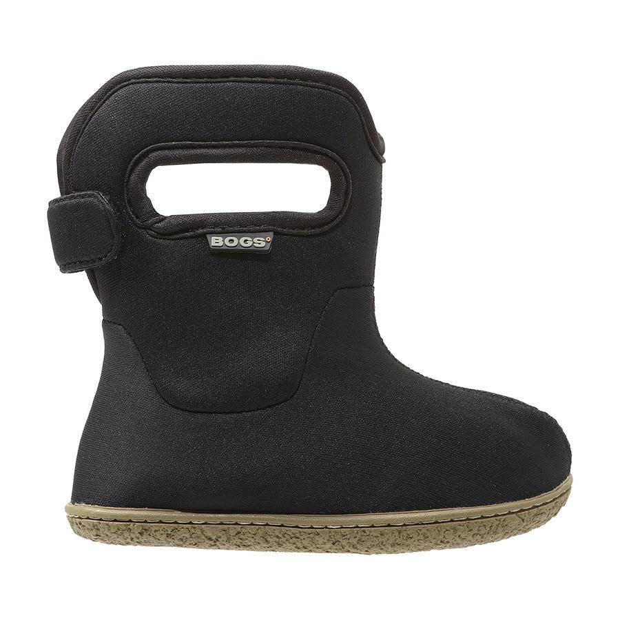 Bogs Toddler Classic Solid Winter Snow Boot - Black, 8 M US Toddler