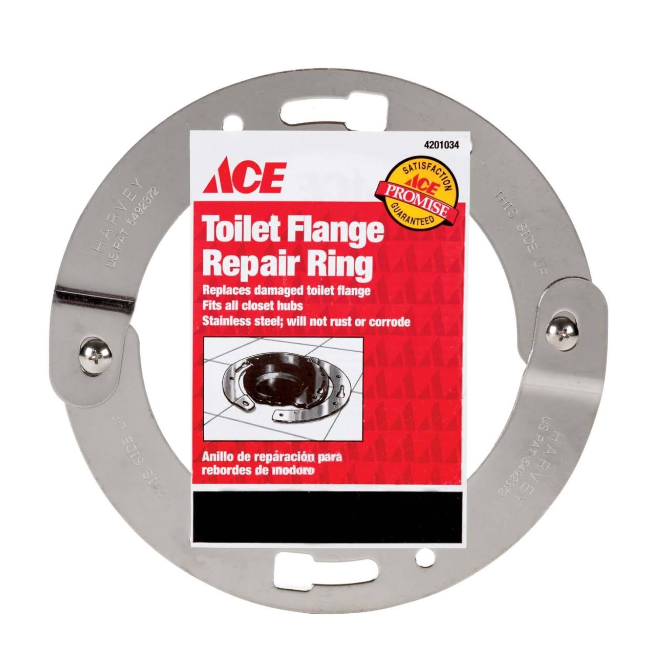 Ace Toilet Flange Repair Ring