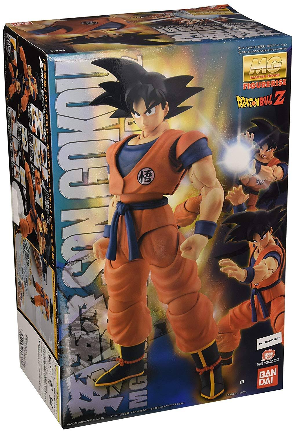 Bandai BAN161833 Dragon Ball Z Goku Figure - 1/8 Scale