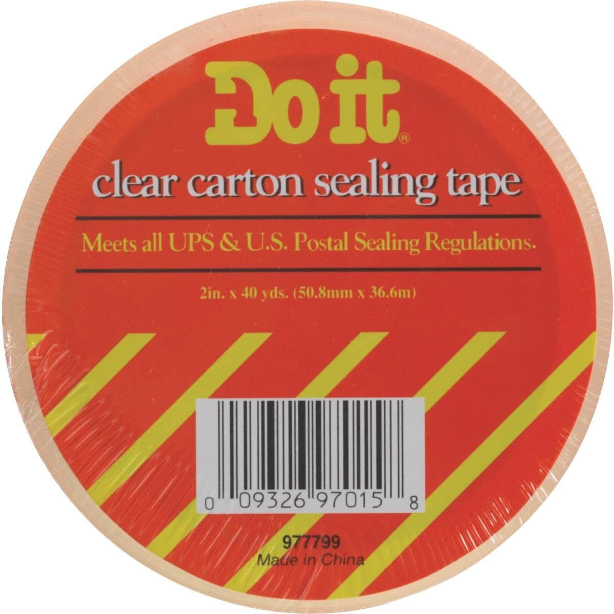 "Intertape Polymer Group Clear Tape - 2"" x 40 Yards"