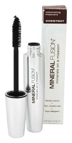 Mineral Fusion Natural Volumizing Mascara - Chestnut Brown, 0.57oz