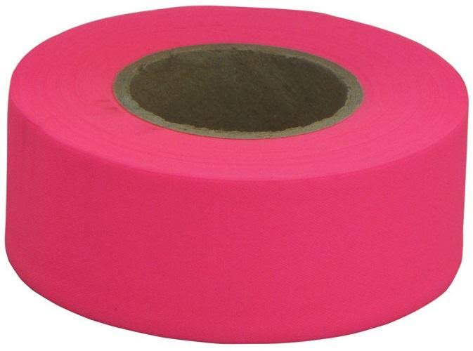 C. H. Hanson Flagging Tape - Long Pink