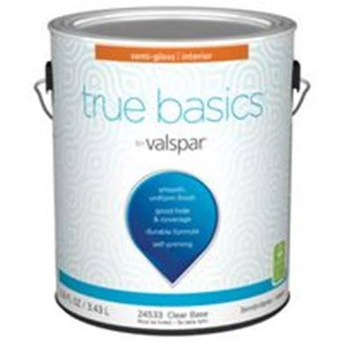 Valspar 7350994 1 Gal Semi-Gloss Interior Paint - Clear Base
