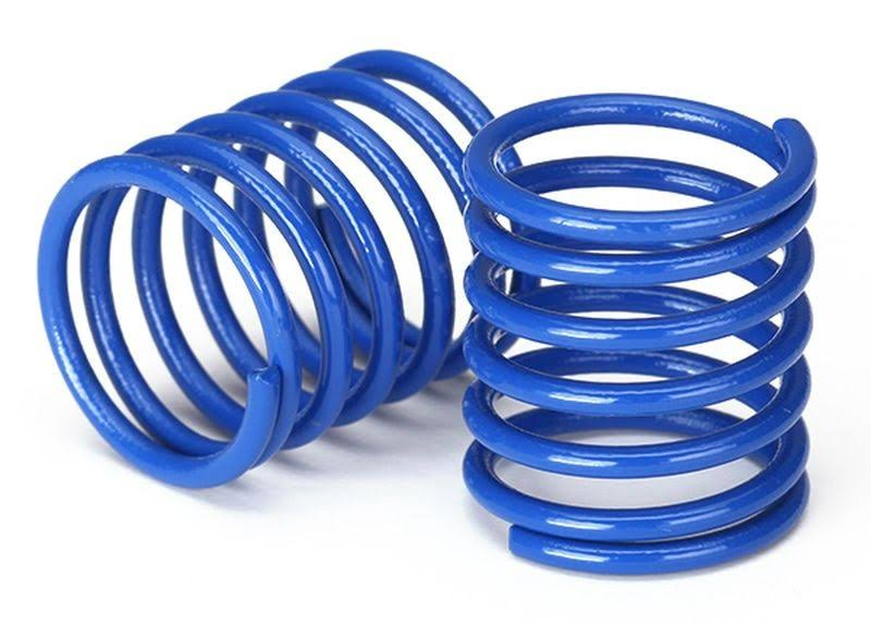 Traxxas 8362X - Spring, Shock (Blue) (3.7 rate) (2)