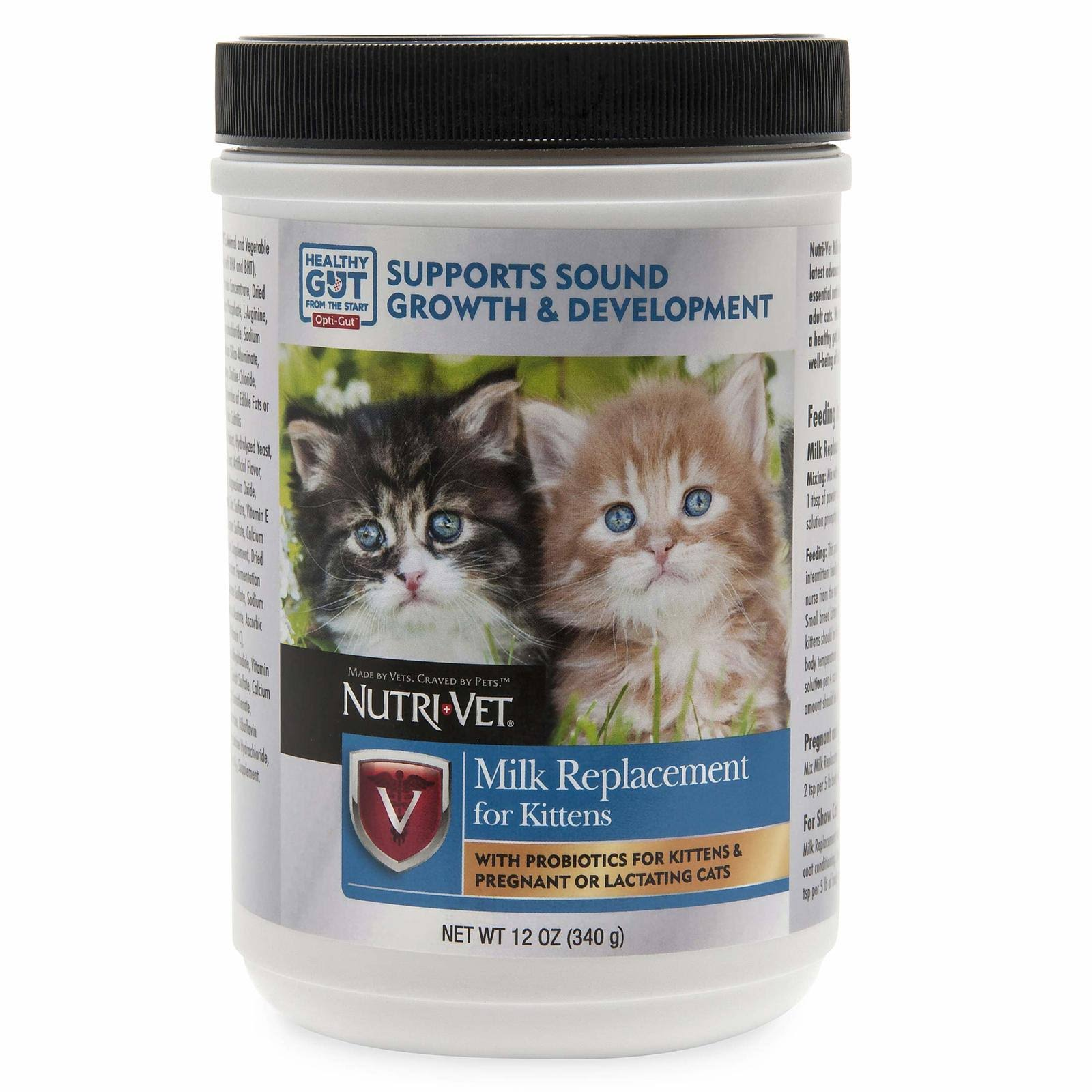 Nutri Vet Kittens Milk Replacement - 12oz