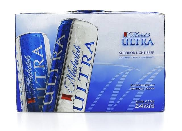 Michelob Ultra Beer - 24 Cans