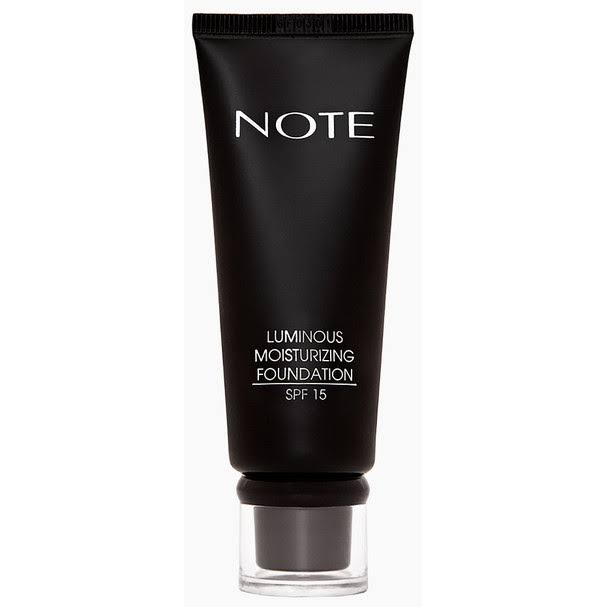 NOTE Luminous Moisturizing Foundation 116 Golden Beige
