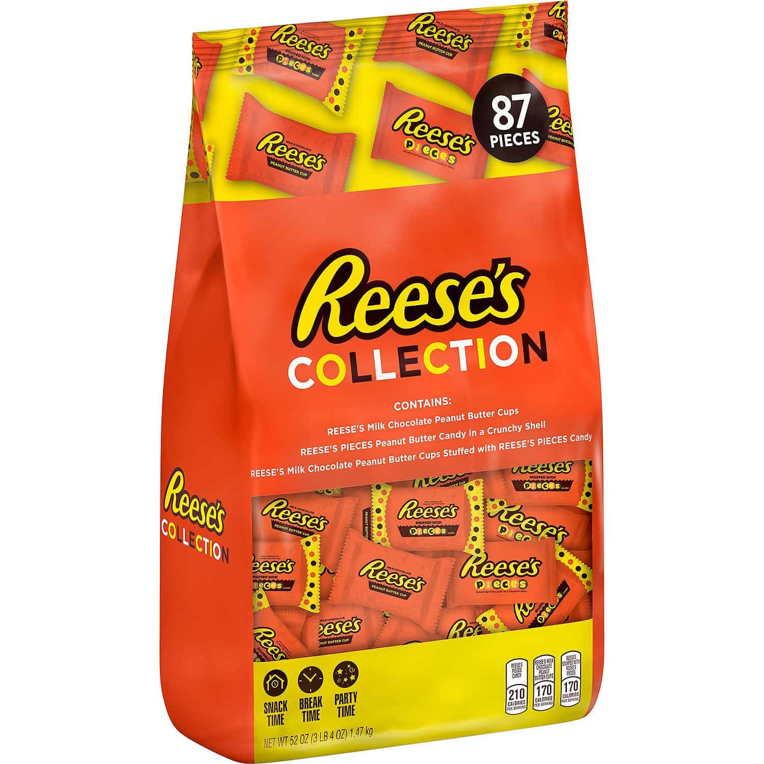 Reese's Peanut Butter Cups Collection 52 oz. 87 ct.