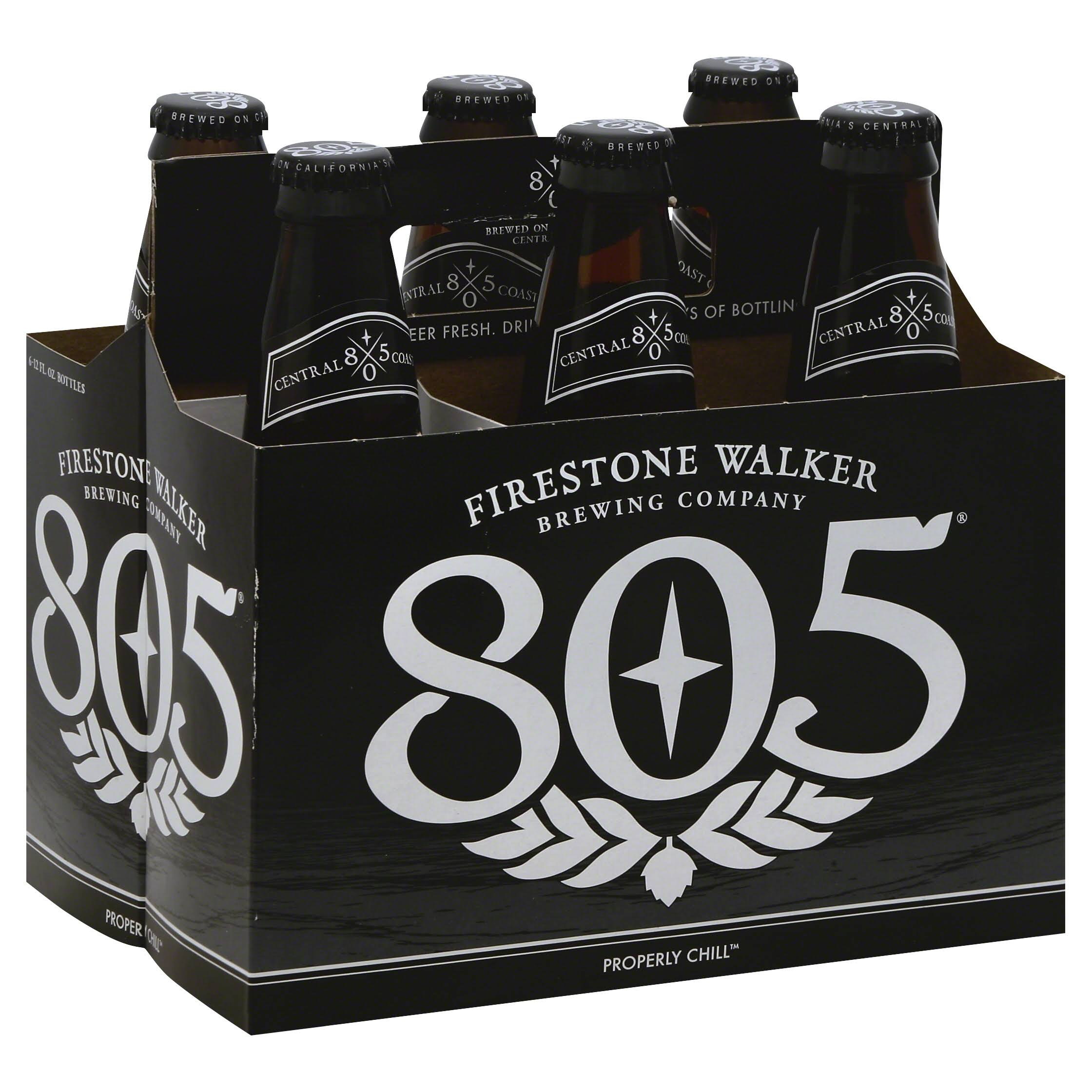 Firestone Walker Beer, 805 - 6 pack, 12 fl oz bottles