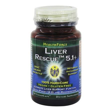 Healthforce Liver Rescue Dietary Supplement - 30 Capsules