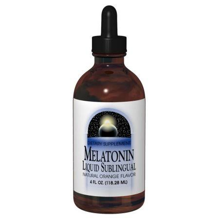 Source Naturals Melatonin Liquid - Natural Orange Flavor, 2 Oz