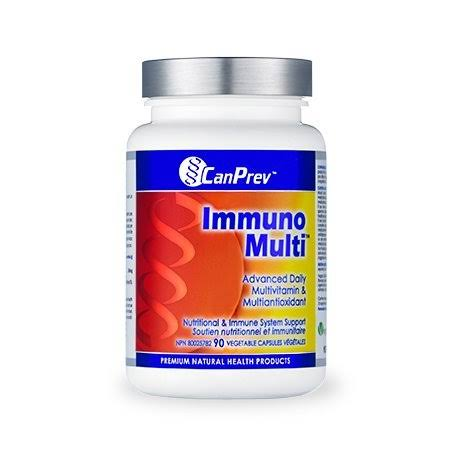 Canprev Natural Health Products Immuno Multi Dietary Supplement - 90ct